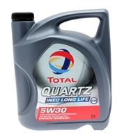 Масло моторное синтетическое QUARTZ INEO LONG LIFE 5W-30, 5л