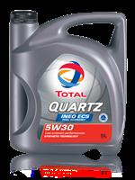 Масло моторное синтетическое QUARTZ INEO ECS 5W-30, 5л